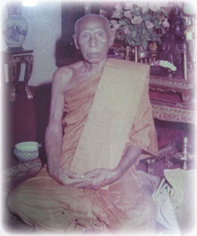 Luang Por Tong Sukh of Wat Sapan Sung
