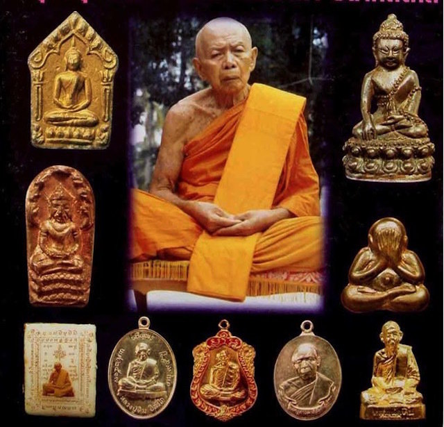 Luang Phu Tim Issarigo and his Amulets