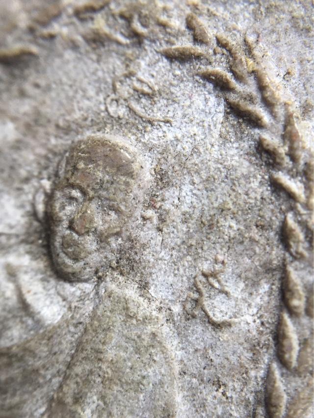 LP Kasem amulet front side