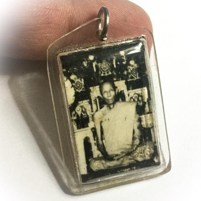 Luang Phu To Wat Pradoo Chimplee Photo amulet 2519-2520 BE