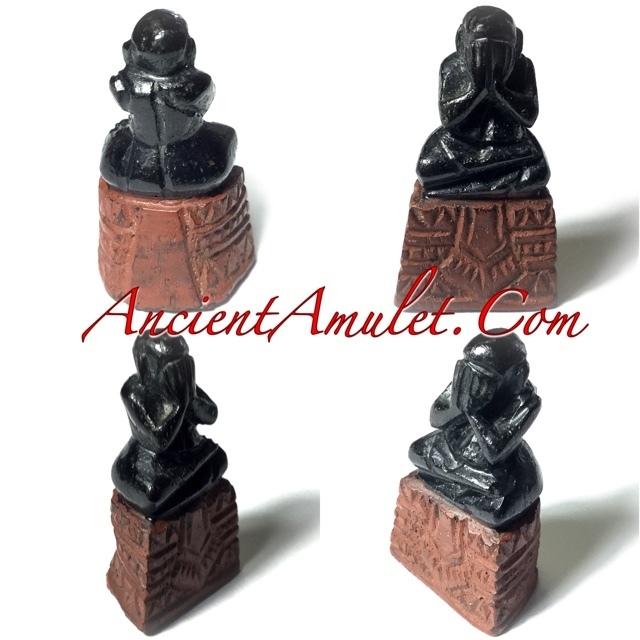 Pra Pid Ta Thaan Sung Circa 2450 BE Luang Phu Iam Wat Hnang