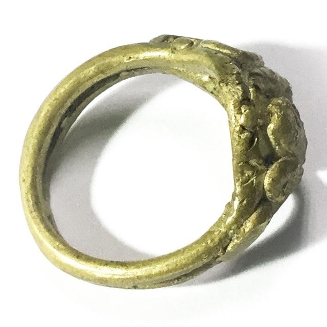 Magic Ring of Protection Wealth and Treasure Circa 2460 BE - Luang Por Im - Wat Hua Khao