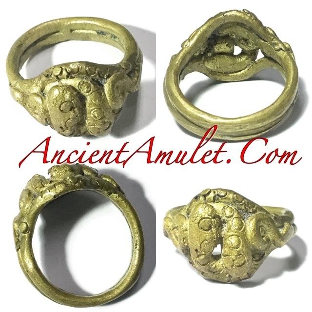 Magic Ring of Protection Wealth and Treasure - Luang Por Im - Wat Hua Khao