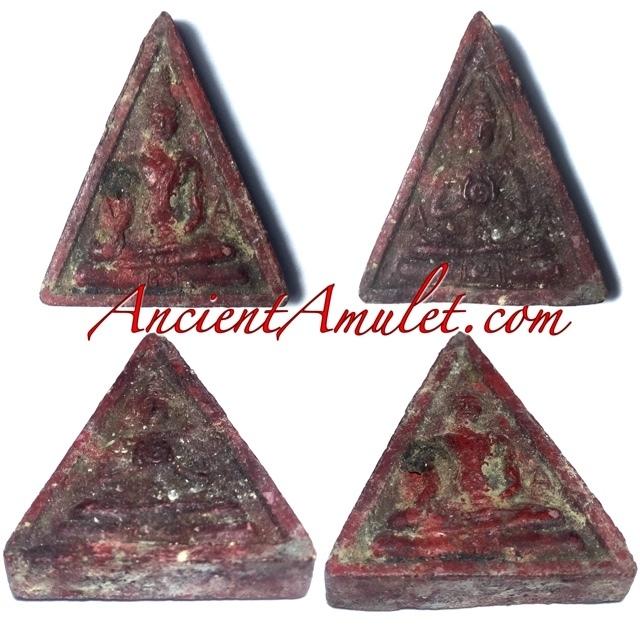 Pra Somdej Praya Bparamadth Pim A-A Ancient Amulet Luang Por Pina