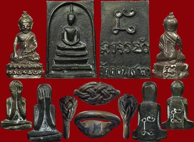 amulets of Pra Ajarn Sri Ngern
