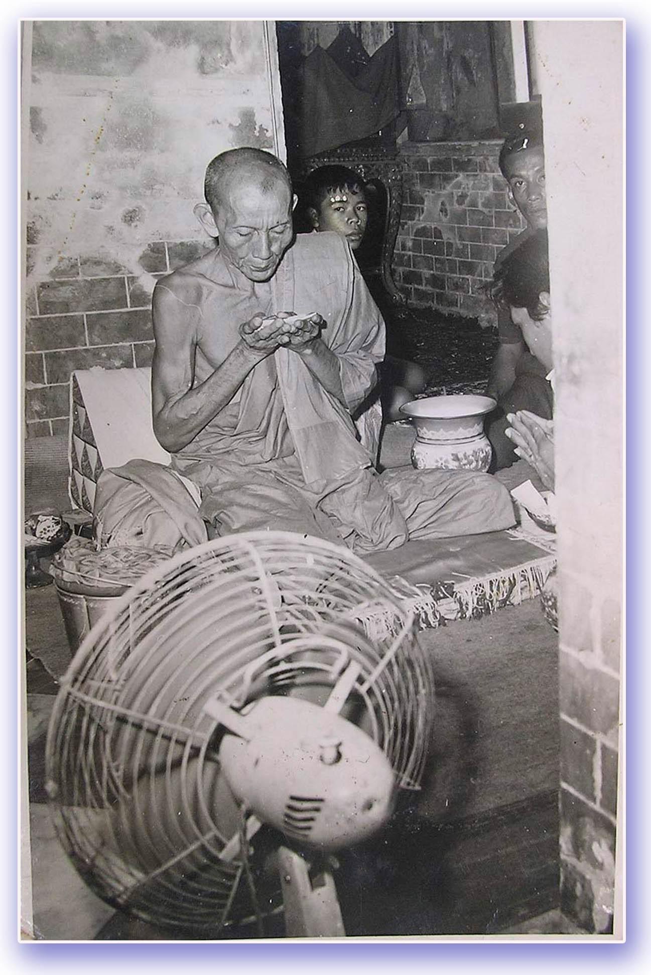 LP Guay Wat Kositaram Empowers Amulets