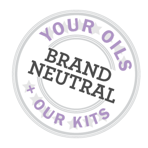 Use your own brand of oils with our kits!