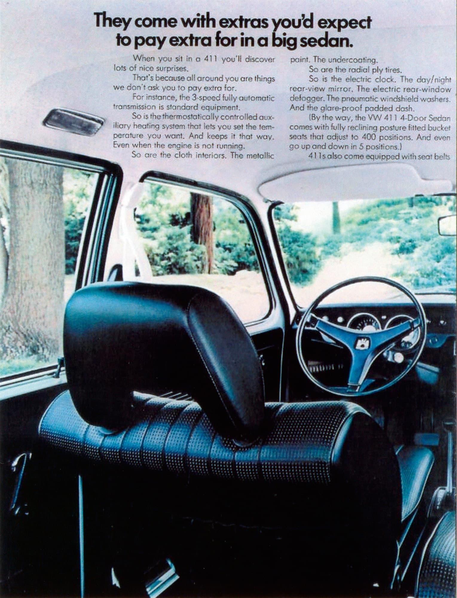 Volkswagen Type 4 original press materials