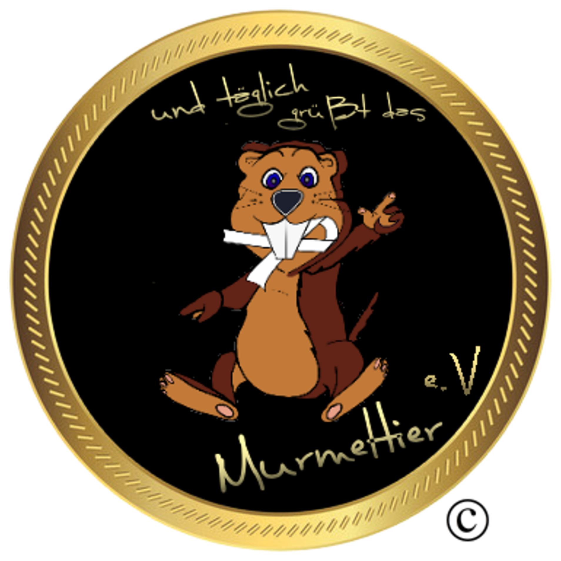 Logo - und täglich grüßt das Murmeltier e.V