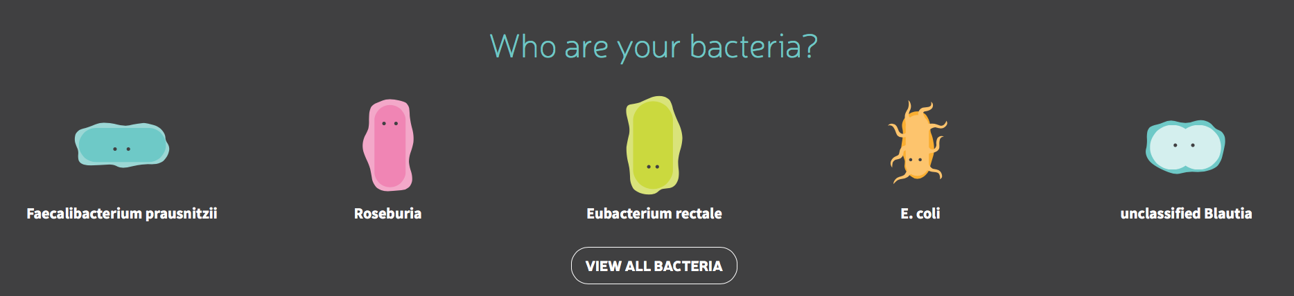 Who are your bacteria?