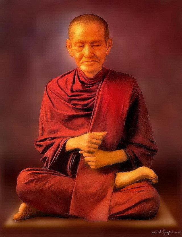 Somdej Pra Puttajarn (Dto) Prohmrangsri Wat Rakang Kositaram