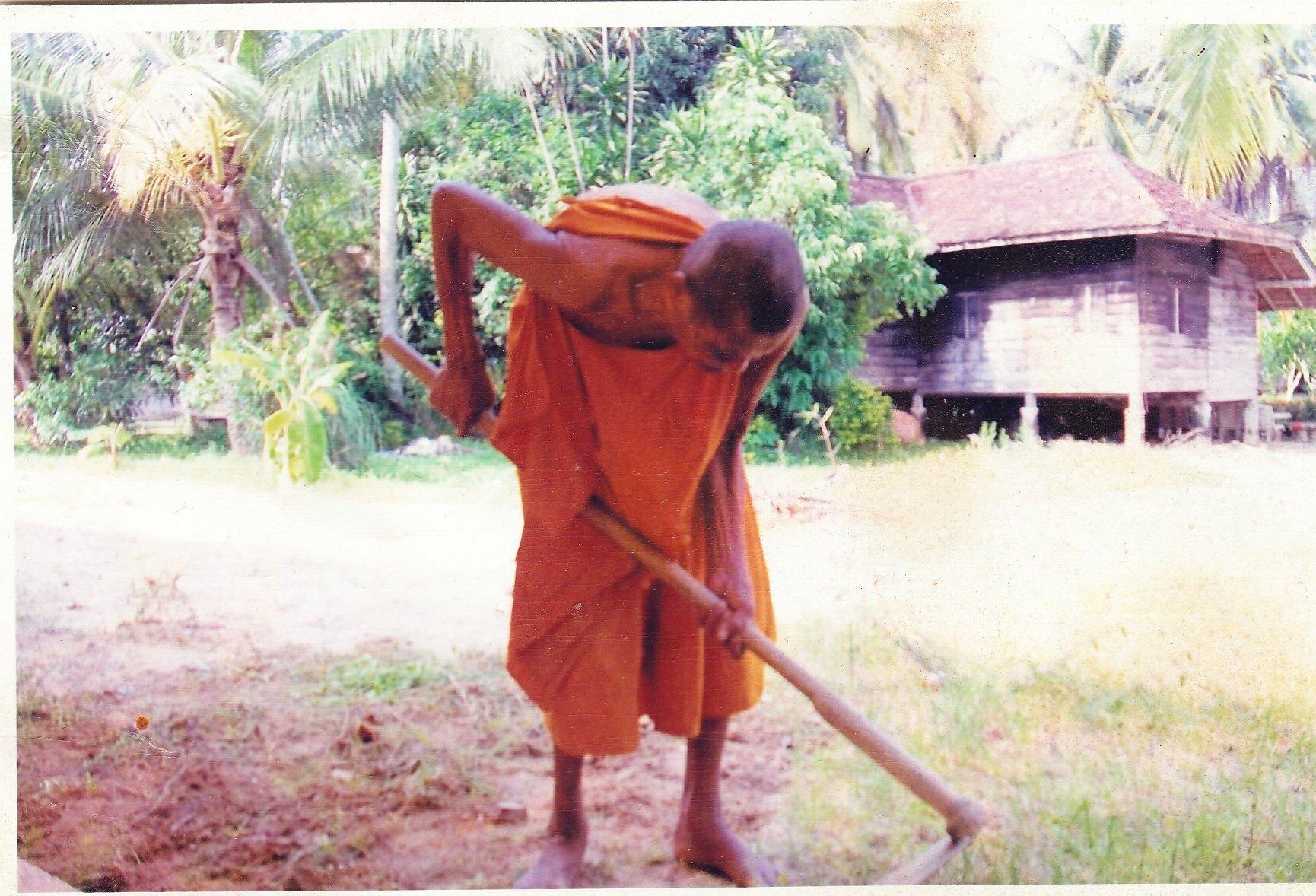 Por Tan Prohm Sweeping the Temple