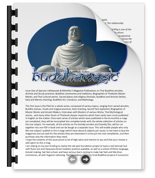 Buddha Magic Issue 1