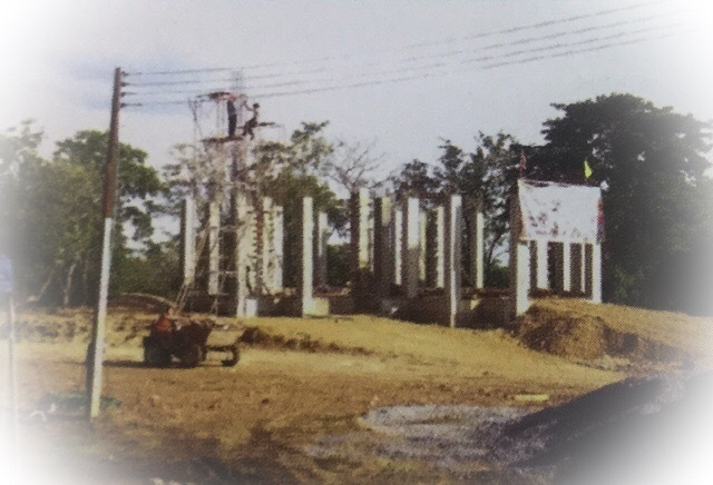 Uposadha Shrine Building Project in Progress