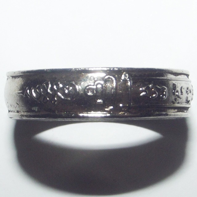 The rings were made in two versions, these Mongkol Metta Mahaniyom Mercy Charm Rings, and also another Version with Different Yant Inscription, for Maha Ud Kong Grapan Chadtri Protection