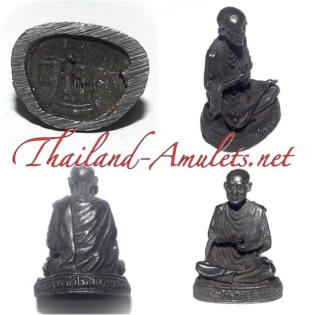 Roop Lor Somdej Pra Puttajarn (Dto) Prohmrangsri Wat Rakang Kositaram Loi Ongk Statuette 2533 BE 118 Years edition