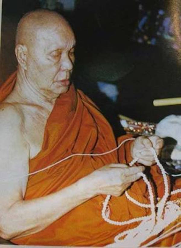 Luang Por Uttama Thai Buddhist Master Monk