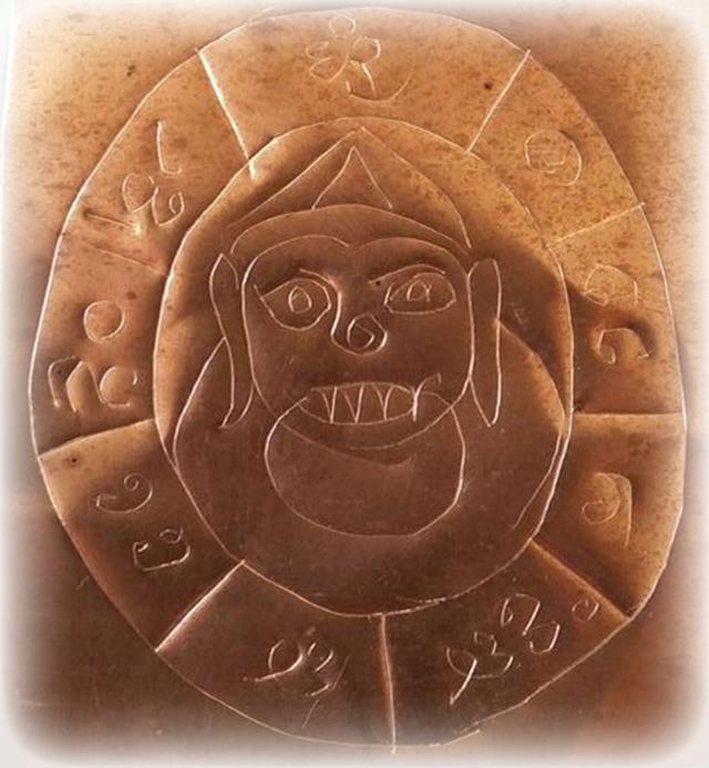 Takrut Pra Rahu Kam Duang Karma Improver Amulet Pra Ajarn Gorp Chai Wat Mae Ya