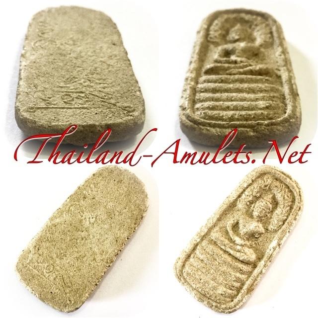 Pra Nakprok Taep Nimit  Ancient Amulet 2496 B.E. Ajarn Chum Chai Kiree and Pra Ajarn  Kong