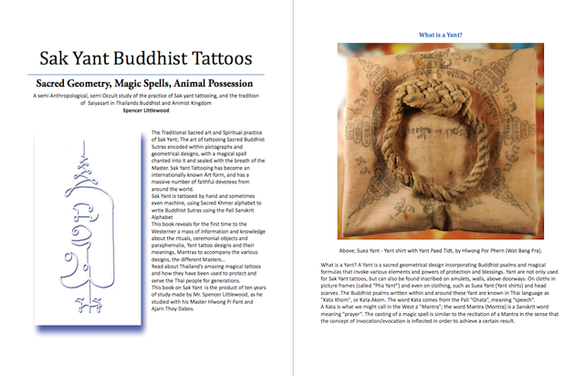 Sak Yant Thai Temple Tattoos Ebook