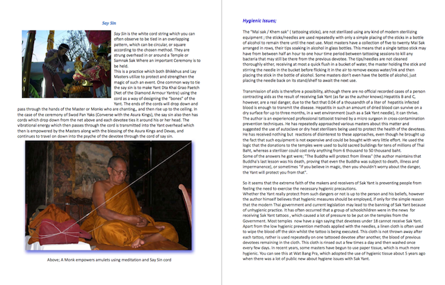 Preliminary Information - Sak Yant Thai Temple Tattoos Ebook