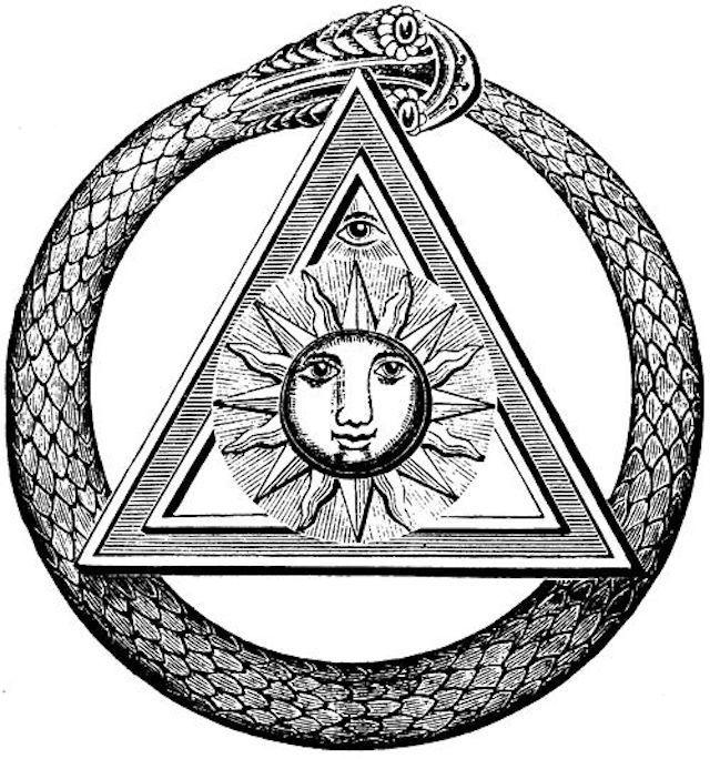 Oroubouros in Hermetic Symbolism