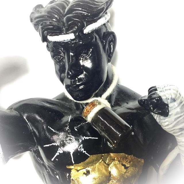 Muay Thai Warrior statue