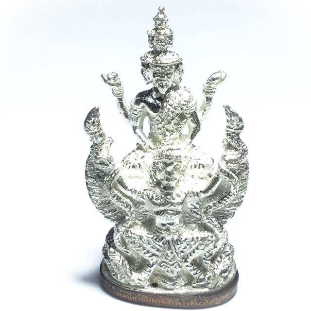 9 headed Ruesi Statuette solid silver Luang Phu Nong Tammachodto