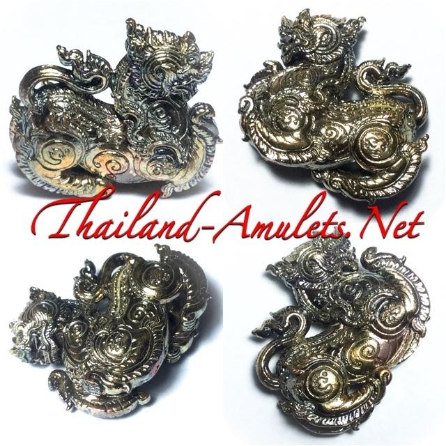 Rachasri Lion Himapant Forest Animal amulet Luang Por Raks
