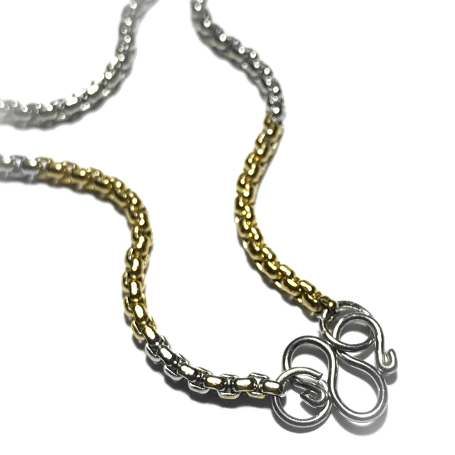 Stainless steel ladies neck chain for amulets
