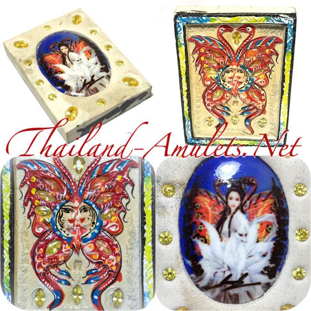 Taep Jamlaeng Butterfly King Amulet