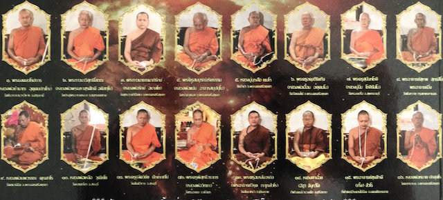 Monks Present at the Blessing Ceremony