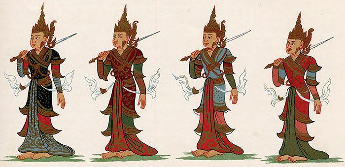 four asura kings