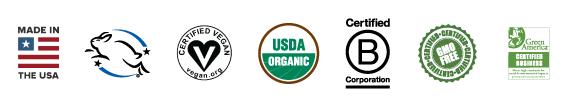 Organic Deodorant Certificates