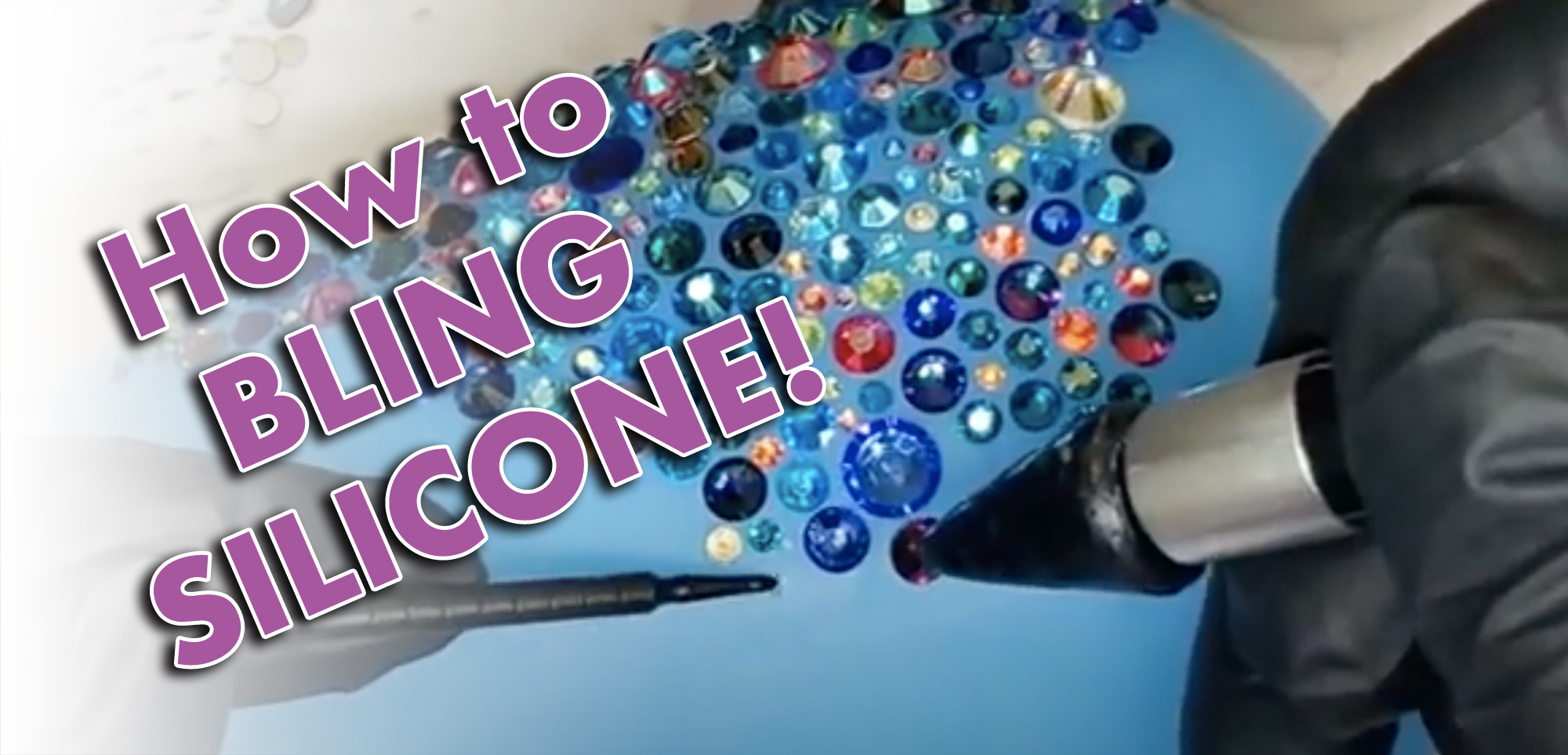 How to Bling Silicone
