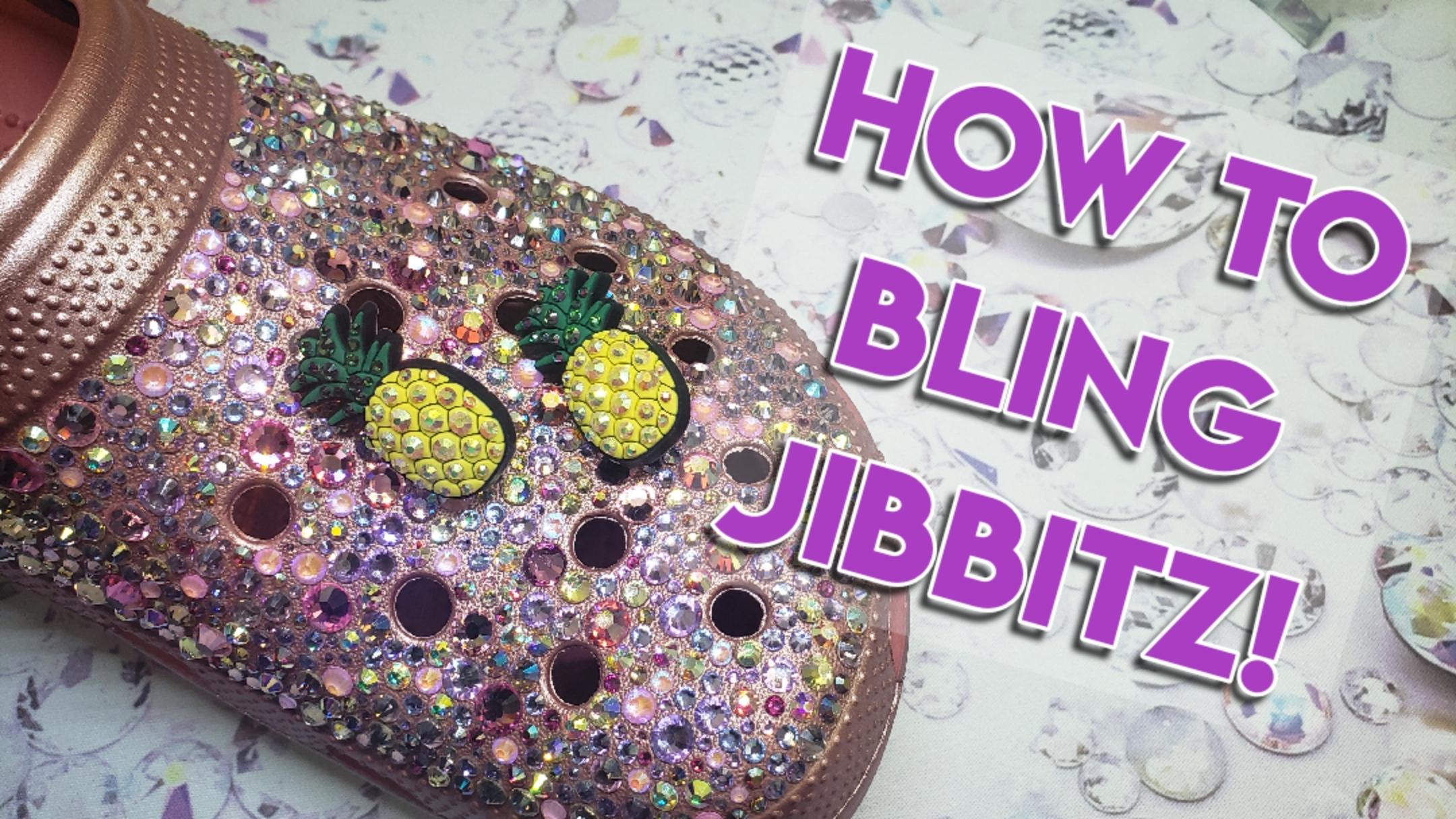 How to bling Jibbitz