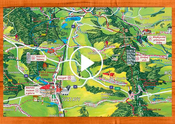 interaktivní mapa Svitavsko