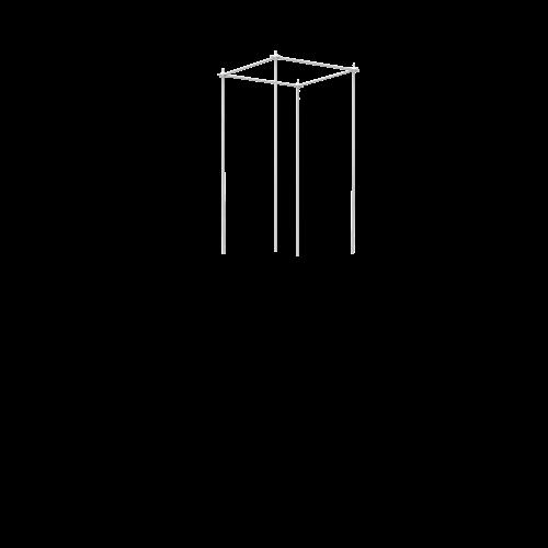 Klimplantensteun Smart Column uitbreiding