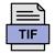 Šablóna v TIF