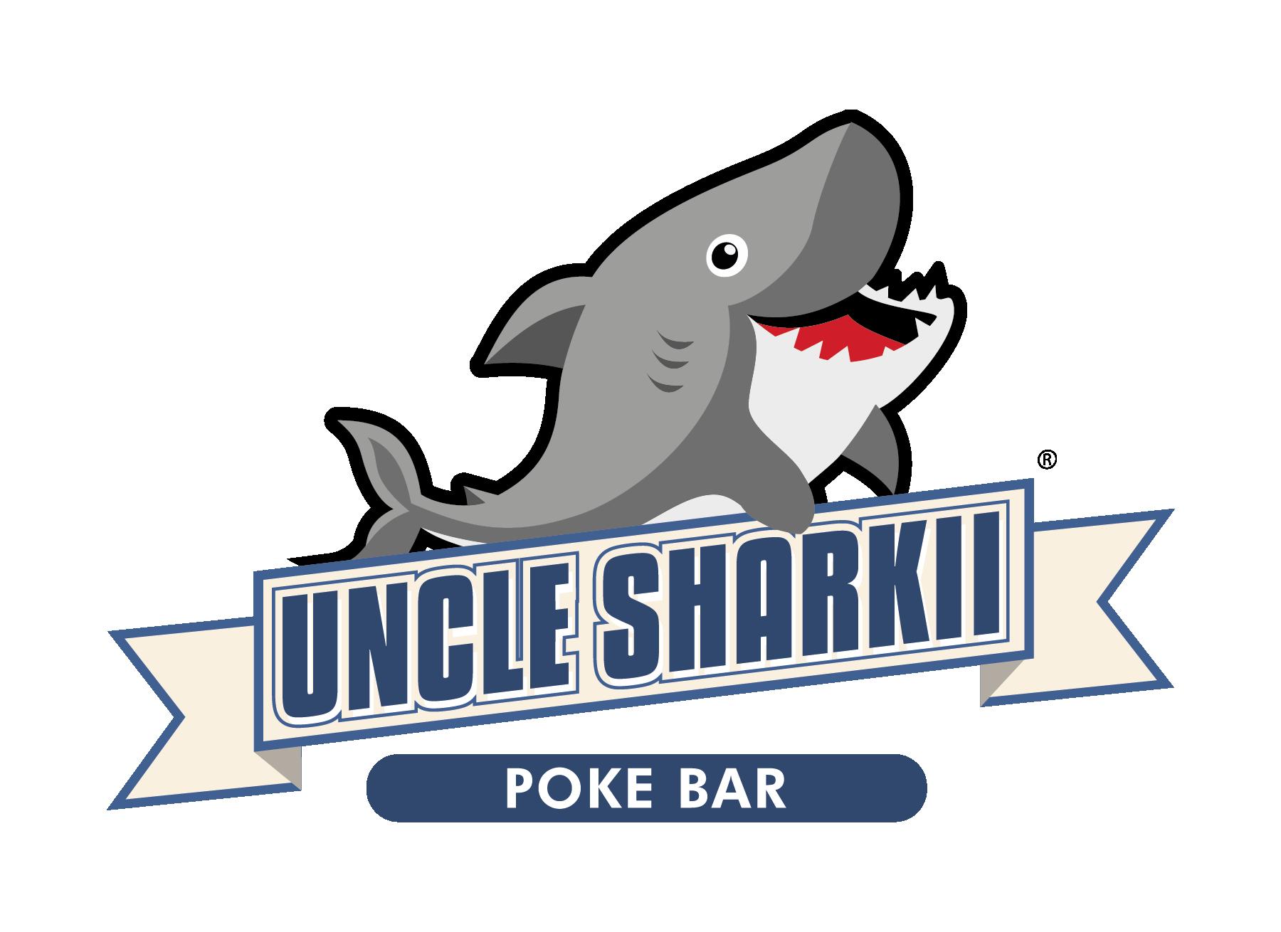 Uncle Sharkii Poke Bar Franchise Logo