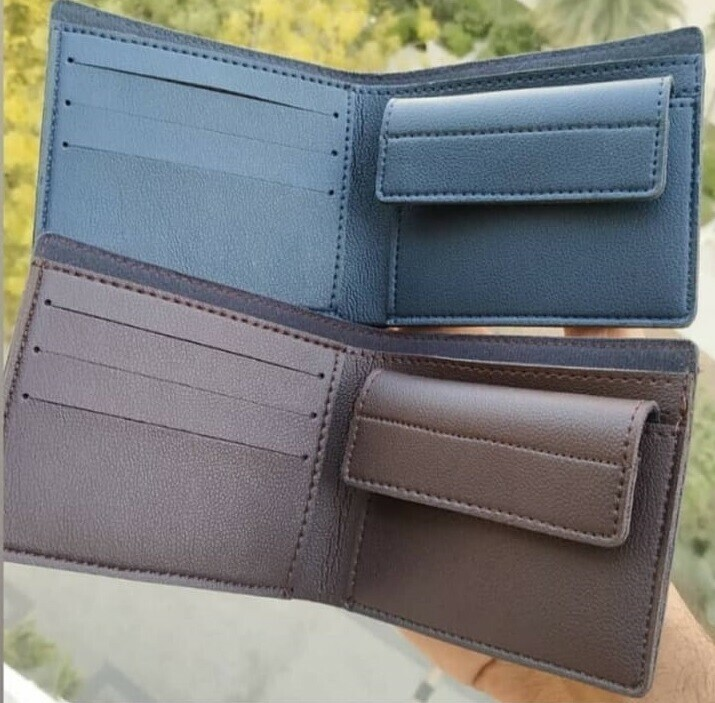customized men's wallet with name