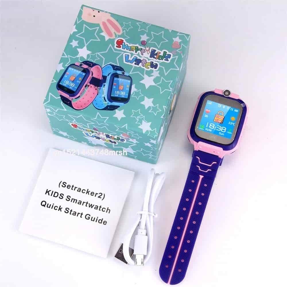 Packaging de la Smartwatch KIDS