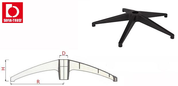 Крестовина для кресла Ø 700 mm