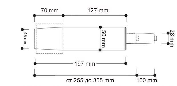 Размеры газлифт