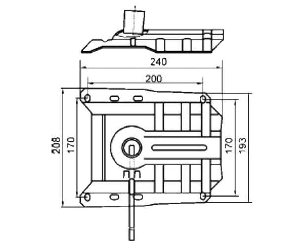 Механизм кресла