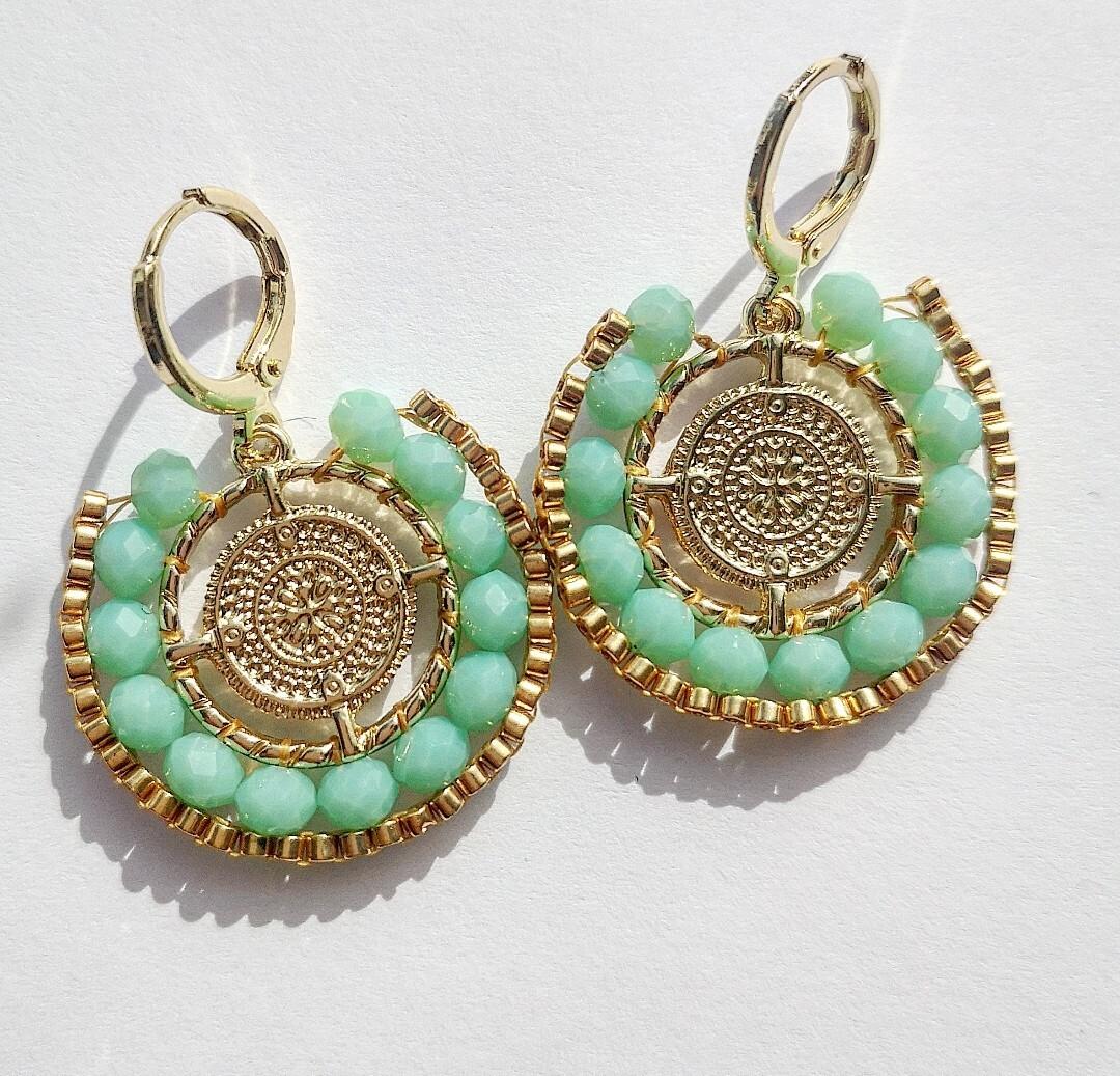 Earrings Byzance