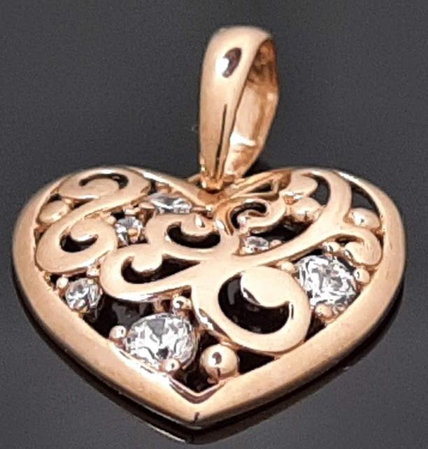 Pakabutis auksinis sirdelė širdis merginai dovana išleistuvių proga gimtadienio proga draugei