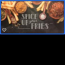kruiden voor je frieten te pimpen