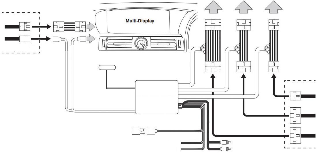 Видеоинтерфейс CarPlay & Android Auto для Lexus