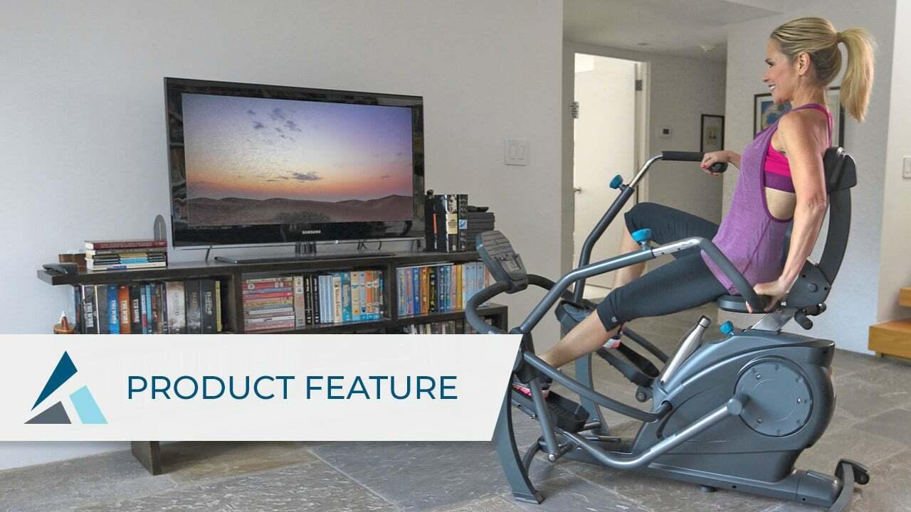 FREESTEP™ 橢圓半坐臥式鍛鍊器為您帶來能在家中輕鬆自如、無壓力、零衝擊的有氧運動和力量訓練。